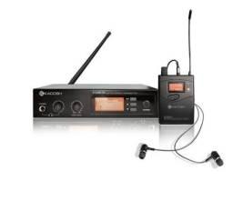 Sistema de retorno in ear s/fio profissional