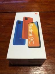 Xiaomi Redmi 9C na caixa
