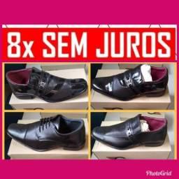 Sapatos sociais costurados( 8x sem juros)
