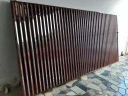 Portão usado de corre medidas 3.50x1.80