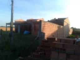 Velleda oferece casa 140 M² (inacabada), terreno murado 600 metros da RS040