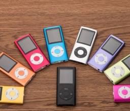 Mp4 Player Fino Slim Gravador Voz Radio Fm Fone Filmes Cores