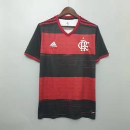 Camisa Oficial do Flamengo modelo 20/21.