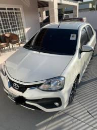 Vende-se esse lindo Toyota Etios sedã Platinum AT. 1.5, 16V. 2018/2018. 29mil Km rodados