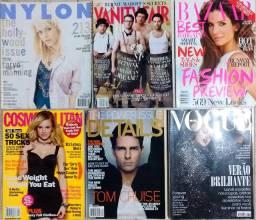 36 revistas ELLE + 6 revistas diversas (R$ 2 cada)