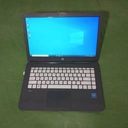 Notebook HP Stream 14 W 10 - 4Gb de RAM 64 Bits SSD 32 Gb Intel Celeron Excelente Estado