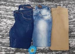 Calças jeans usadas 10,00