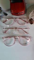 Belos e elegantes óculos feminino de descanso ou para por lente de grau