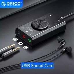 Placa de Som Externa USB Orico SC1