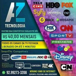 AZTV serviço