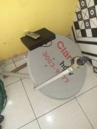 Antena da claro e receptor
