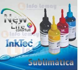 Tinta Sublimática Epson 100ml cada cor
