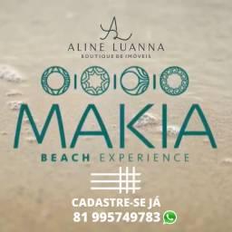 Flats de 01 Quarto, Para investir ou Curtir. Makia Beach!