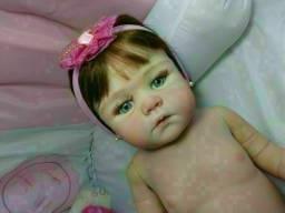 Boneca bebê reborn luxo entrega gratuita em toda baixada