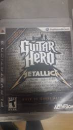 Jogo metálica guitar hero e rock band metal ps3
