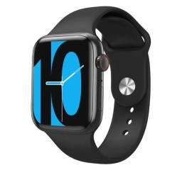 W98 Relógio inteligente smartwatch com função chamadas telefônicas