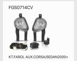 Kit Farol Milha Corsa Pick Up Sedan Classic 00 01 02 03 04 05 06 07 08 09 10 comprar usado  Campinas