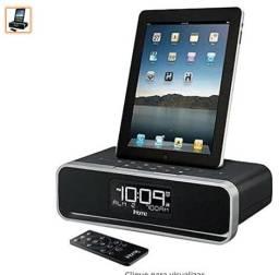 Ihome - rádio relógio com conector para iphone - com despertador