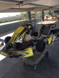 Usado, Kart mini 2014 motor 125 2 tempos partida elétrica comprar usado  Belo Horizonte