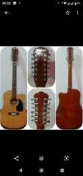 Violão, guitarra e baixo.  estado de novos !!! Valores na descrição do anúncio.