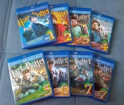 Coleção Harry Potter Blu-ray 8 discos comprar usado  Jundiaí