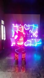DJ , Som, Iluminaçao, Robô de Led, Barman