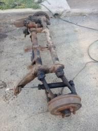 Quadros dianteiros de fusca antigos e modernos