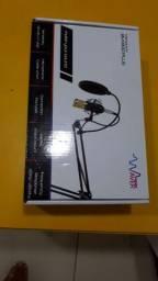 Microfone condensador novo