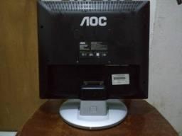 """Monitor AOC para Computador 17"""" - Usado"""