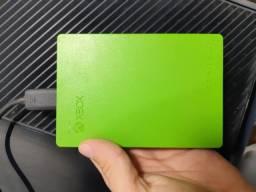 HDD 2TB Externo Xbox One Original - Seagate, em perfeito estado