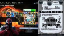 500gb para Xbox com RGH