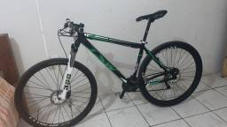 Bicicleta aro 29 ,toda shimano ,suspensão 300 ,quadro alumínio TSW