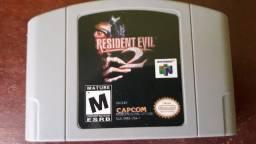 Jogo Resident Evil 2 para nintendo 64