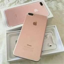 Apple iPhone 7 plus 256 GB com acessórios