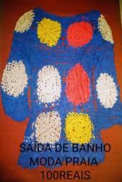 SAÍDA DE BANHO EM CROCHÊ