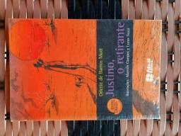 """Livro """"Justino o Retirante"""", Odette de Barros Mott"""