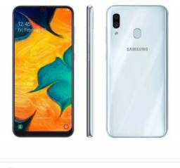 Samsung A30 Pra vender logo