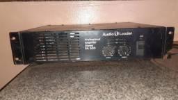 Potencia amplificador profissional audio leader