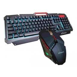 Teclado e mouse gamer xtrad HK-8500