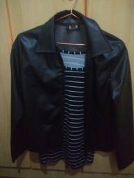 Jaqueta de napa