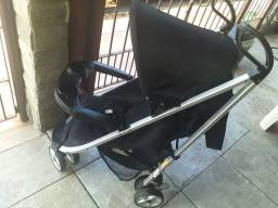 Carrinho unissex de bebê