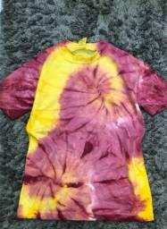 Tie dye infantil blusa