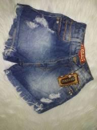 Short jeans 38 veste 36