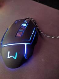 Mouse Warrior Ivor Gamer 3200 DPI Preto. Duvida pode chamar no chat