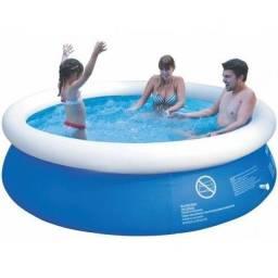 Vendo excelente piscina 1000 litros semi nova