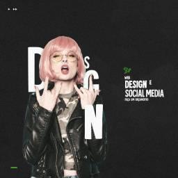 Web Designer, Criação de Artes, Designer Gráfico, Social Media