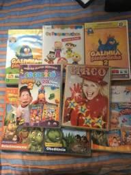 DVD infantil diversos