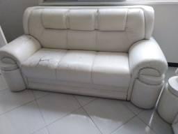 Conjunto de sofá em napa