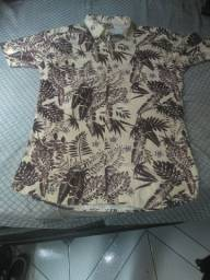 Camisa floral tamanho m