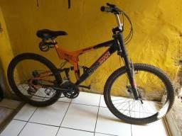 Bike aro 26, ideal para quem está acima do peso